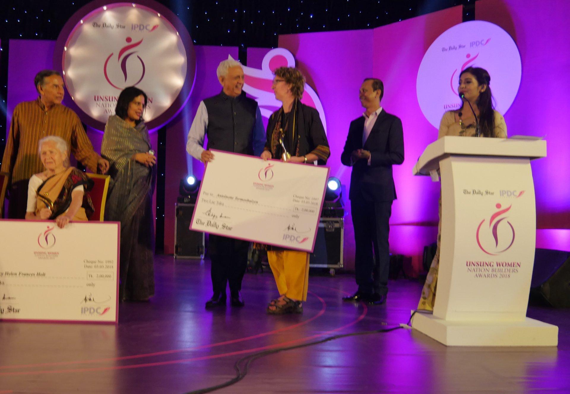Unsung Woman Nation Builders Award